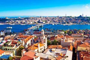 Vliegtijd Turkije