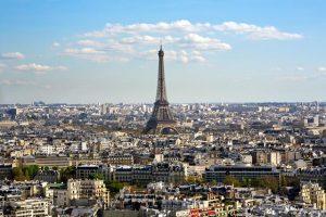 Vliegtijd Parijs, maximaal 2 uur vliegen