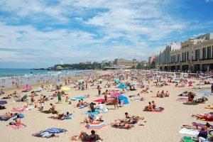 Vliegtijd Biarritz