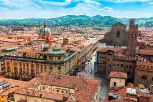 Vliegtijd Bologna
