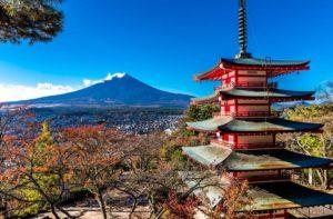 Vliegtijd Japan