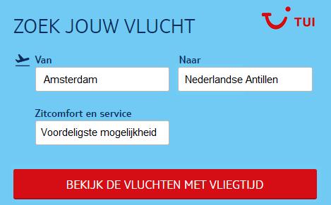 Vliegtickets-Nederlandse Antillen