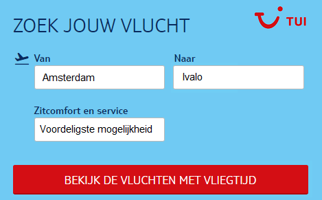 Vliegtickets-Ivalo